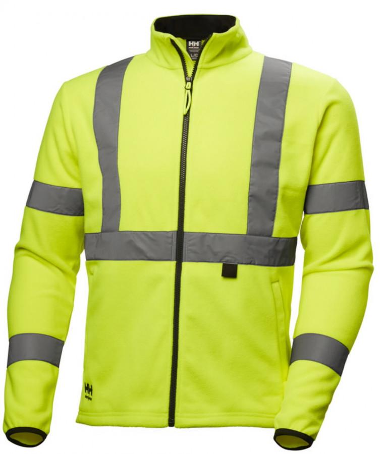 Fliisjakk Addvis kõrgnähtav CL3, kollane 4XL, Helly Hansen WorkWear