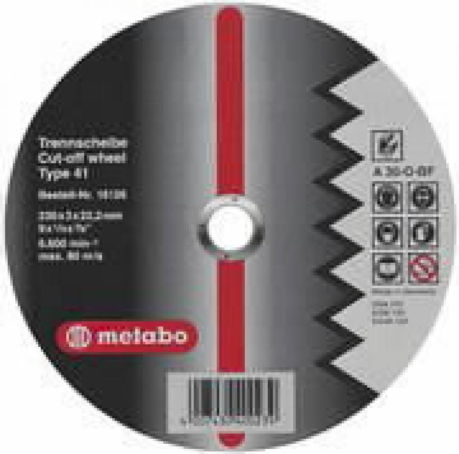 Diskas pjovimo aliuminiui 230mm, Metabo