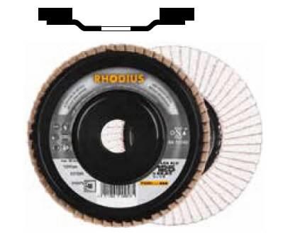 Vėduoklinis diskas LGA ALU 125x22 G40 aliuminiui, Rhodius