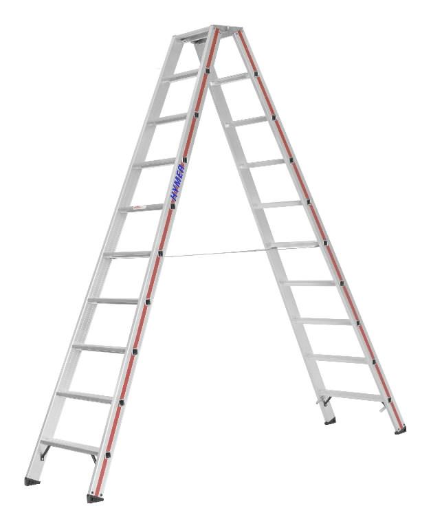 Treppredel 2x10 astet 1,85m, Hymer