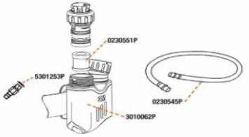 FILTER PACK & O RINGS - FLOWSTREAM 023-05-51P5, Speedglas 3M