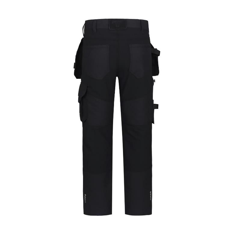 Kelnės  su kišenėmis dėklais Titan Flexpro, pilka C54, Pesso