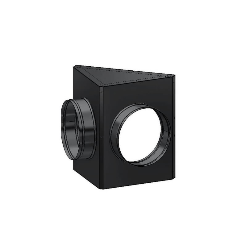 2-way air-outlet (2 x 410 mm). BV 290, Master