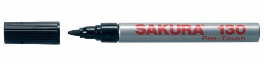 Marker PEN-TOUCH SAKURA 130 must ümar ots, Sakura