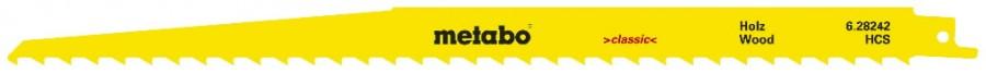 Otssaetera puidule 1,25/300 mm, HCS - 5tk, Metabo