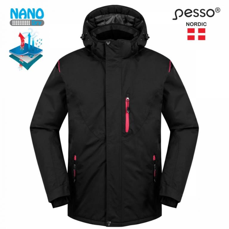 Striukė Jacket Helsinki, juoda 3XL, Pesso