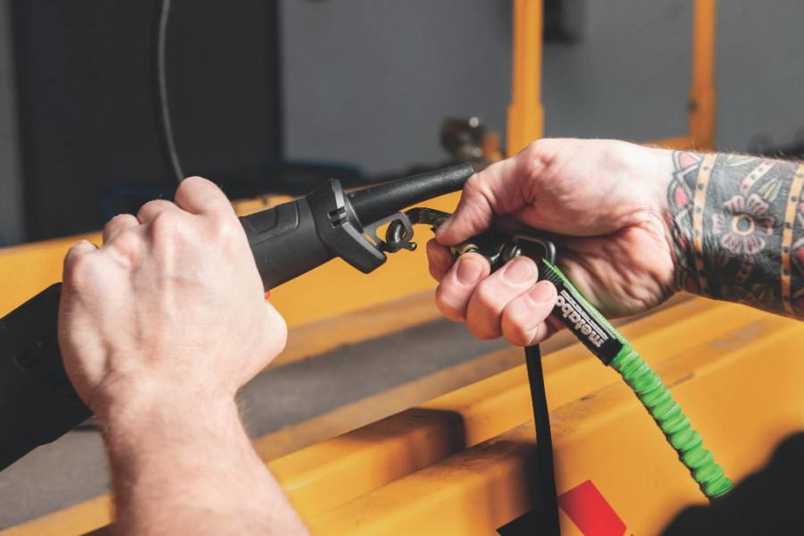 Tööriista turvakinnitus kmpl. kiirkinnitusega kuni  5 kg, Metabo