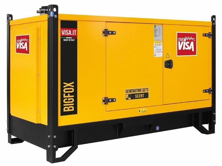 Generatorius VISA 30 kVA P30 FOX, ATS, su pagrindu, Visa
