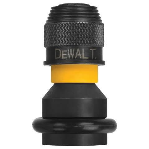Adapter ½  nelikant > ¼  kuuskant, DeWalt