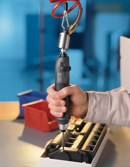 Pn. screwdriver QS1P05S1D straight, Ingersoll-Rand