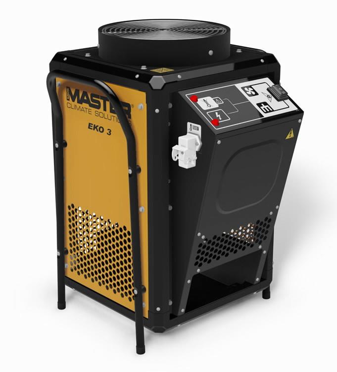 Elektrinis šildytuvas EKO 3 2,8 kW dezinfekcija nuo virusu, Master