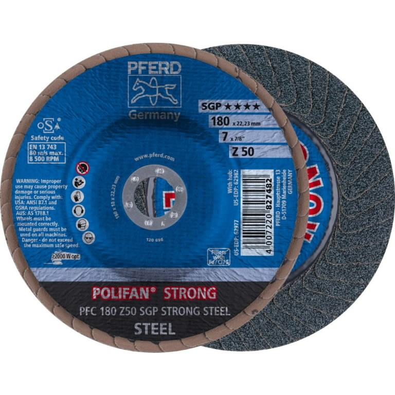 Polifan vėduoklinis diskas 180mm Z50 SGP-STRONG, Pferd