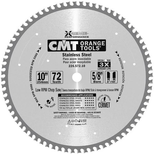 Saeketas INOX 355x2,2/25,4mm Z90, CMT