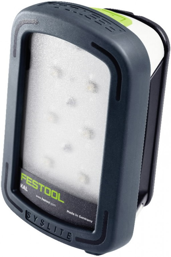 LED töökohavalgusti SYSLITE KAL II, 7.2V / 2.9 Ah, Festool