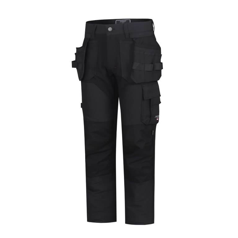 Trousers with holsterpockets Titan Flexpro, grey C60, Pesso