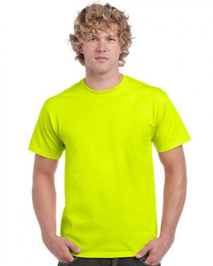 T-särk Gildan 2000 kõrgnähtav, kollane L