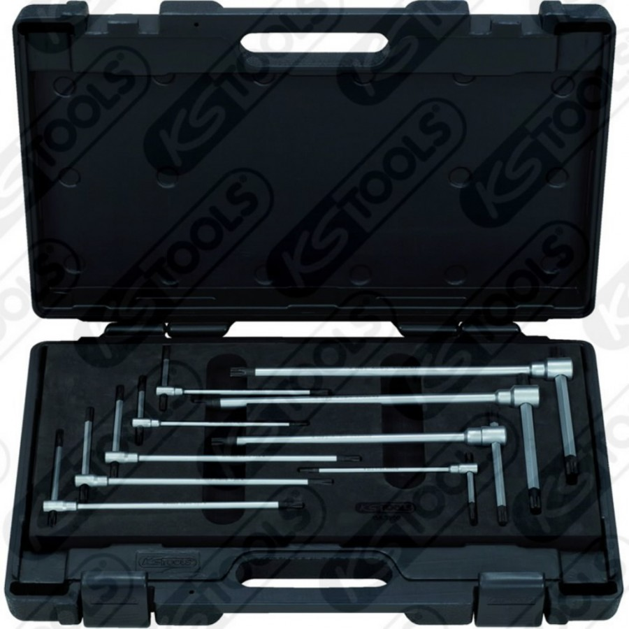 T- võtmete  kmpl 9-osa, KS Tools