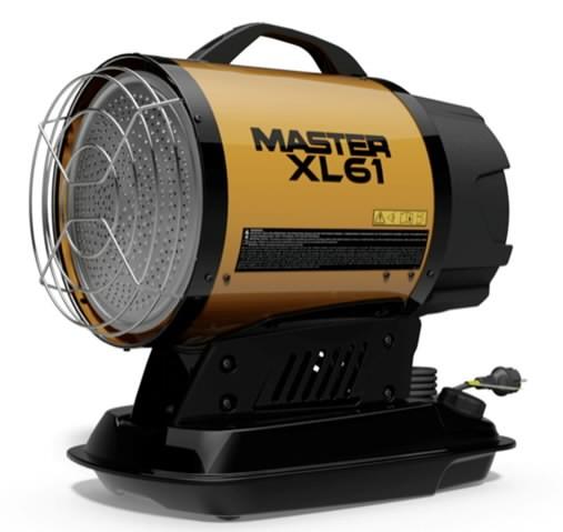 Infrapuna soojuskiirgur, diiselküttega XL 61, 17 kW, Master