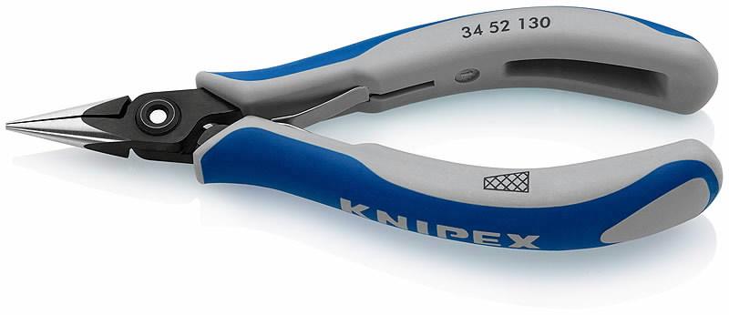 Elektroniķu satverējknaibles ar smailiem galiem 130mm, Knipex