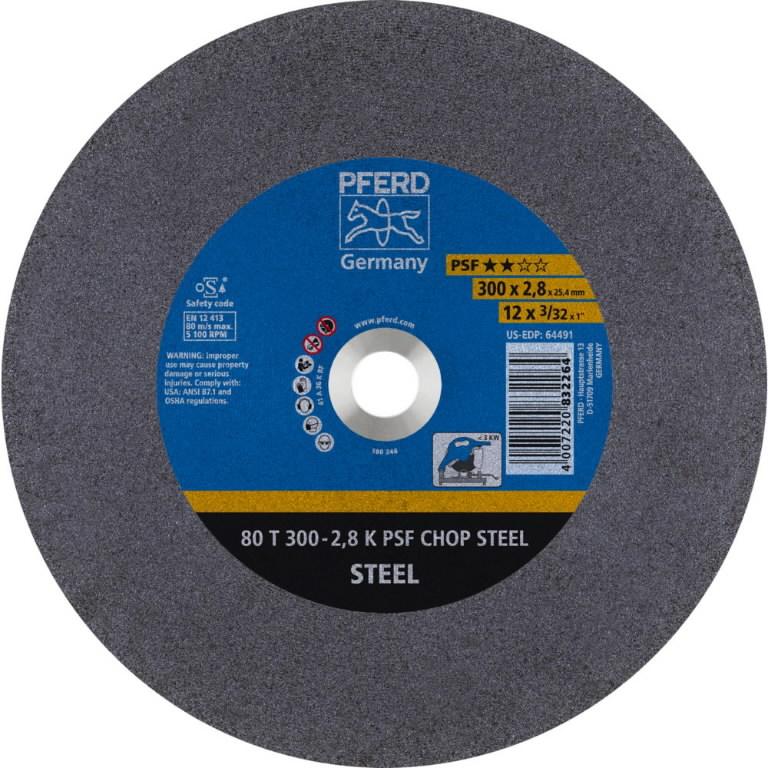 Metallilõikeketas T300-2,8 80 A 36K PSF-CHOP 25,4, Pferd