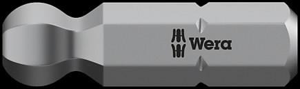 Otsak 1/4´´ 842/1 Z, HEX palliga 3,0x25, Wera
