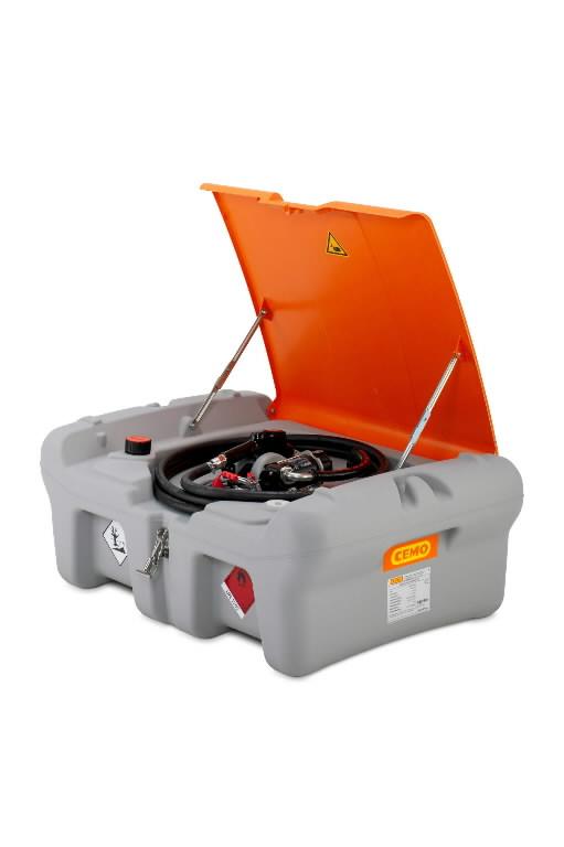 Mobiilne kütusemahuti 210L DT-Mobile Easy 12V 40L/MIN, Cemo