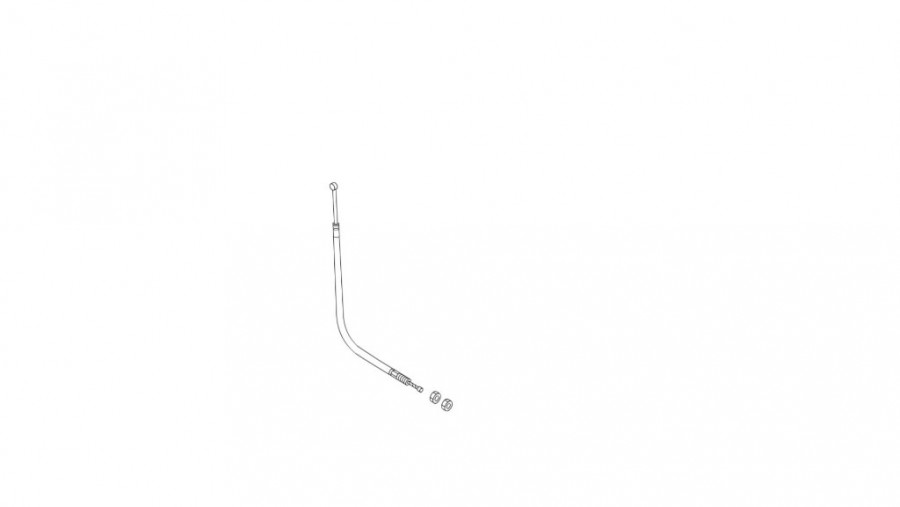 THROTTLE CABLE, ECHO