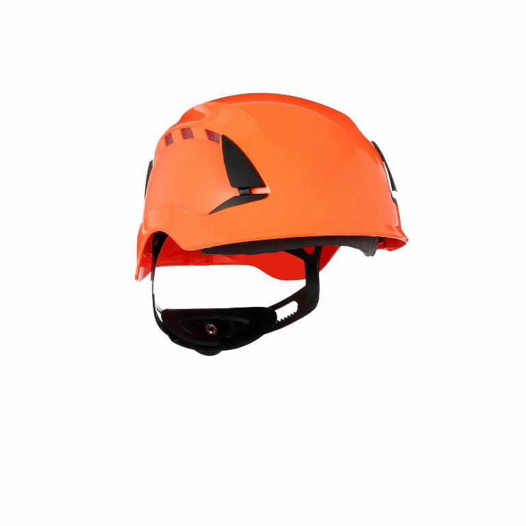 Kaitsekiiver SecureFit, ventileeritud, oranž X5507V-CE, 3M