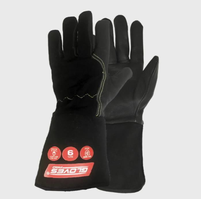 Keevituskindad MIG, must 9, Gloves Pro®