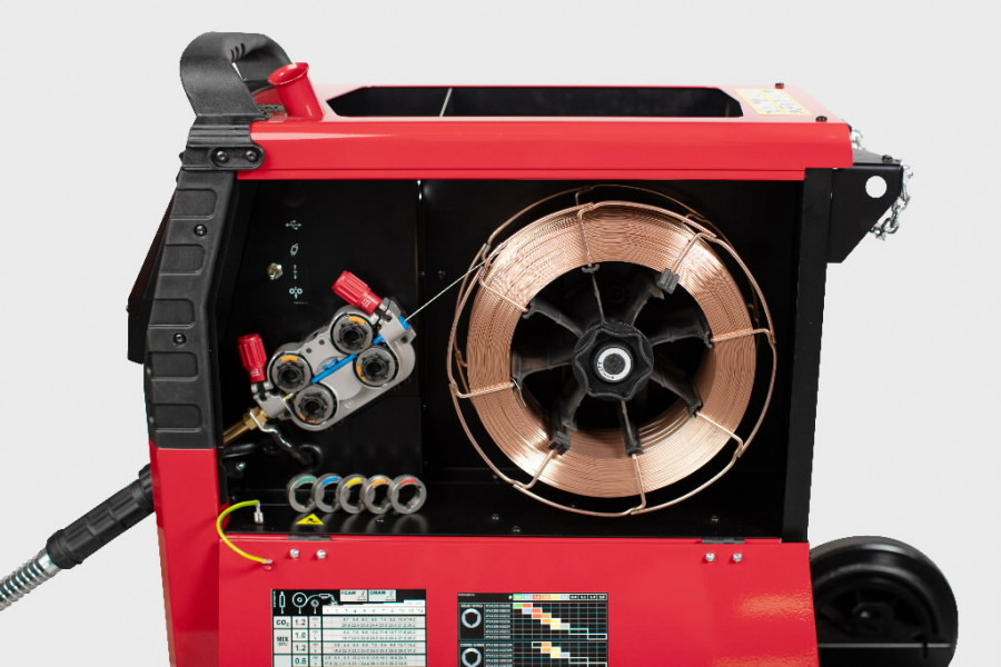 MIG-keevitusseade Powertec i320C Advanced, Lincoln Electric