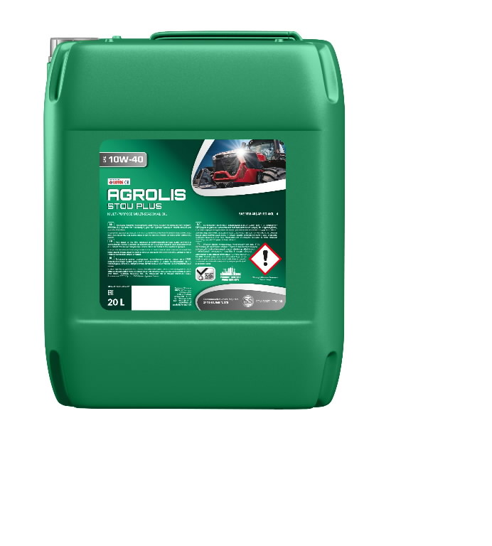 Traktoriõli AGROLIS STOU PLUS 10W40 20L, Lotos Oil