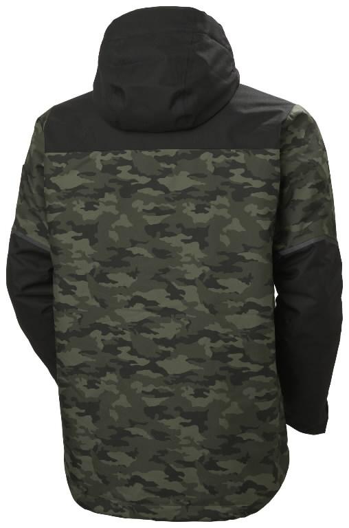 Winter jacket Kensington, hooded, Camo M, Helly Hansen WorkWear