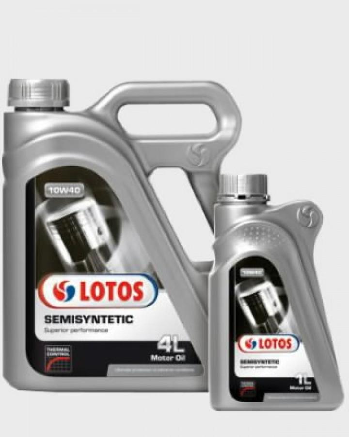Mootoriõli SEMISYNTETIC 10W40 1L, Lotos Oil