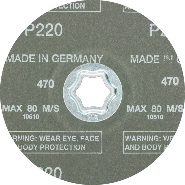 Fibro diskas CC-FS A-COOL 125mm P220, Pferd