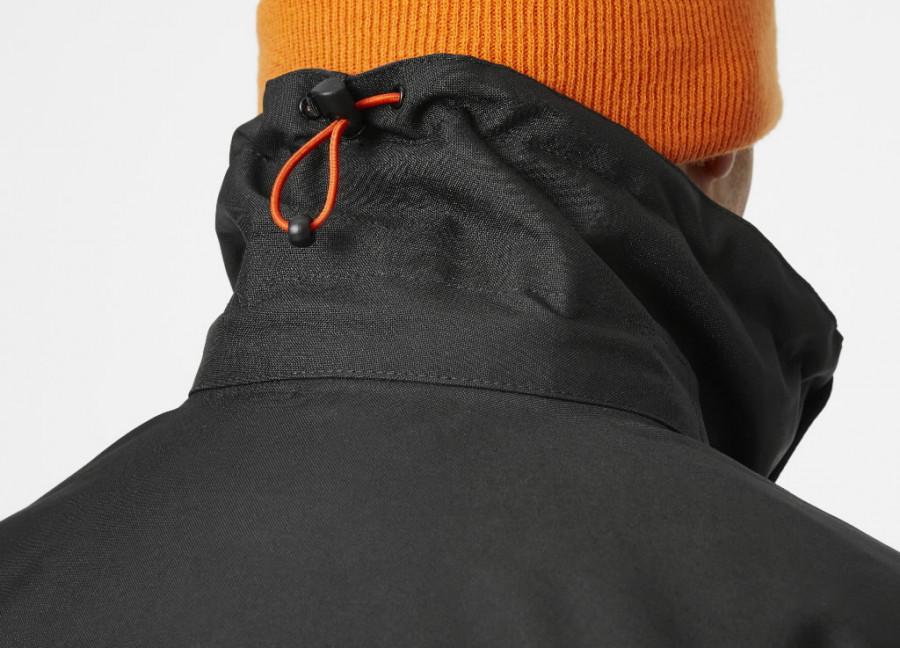 Winter jacket Kensington, hooded, black 3XL, Helly Hansen WorkWear
