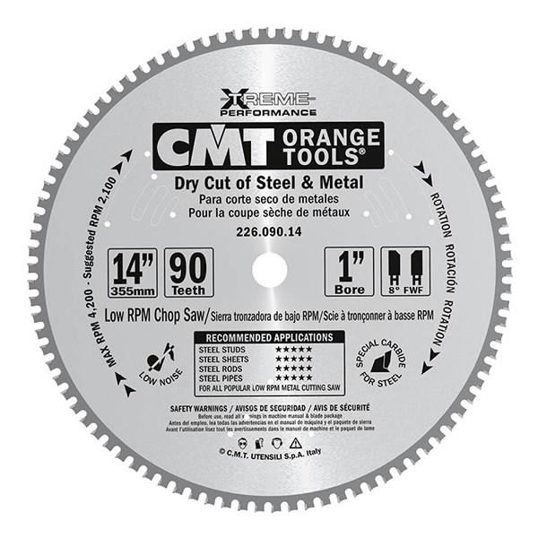 Metalliterä 190x2/30mm Z40 HW, CMT