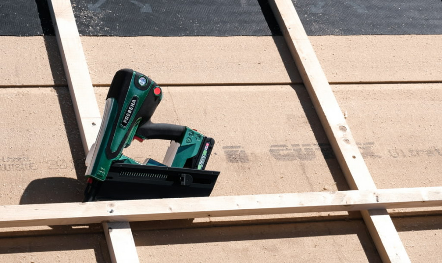 Cordless nailer PKT-8-PR100, 65-100mm, 34 degrees CAS, Prebena