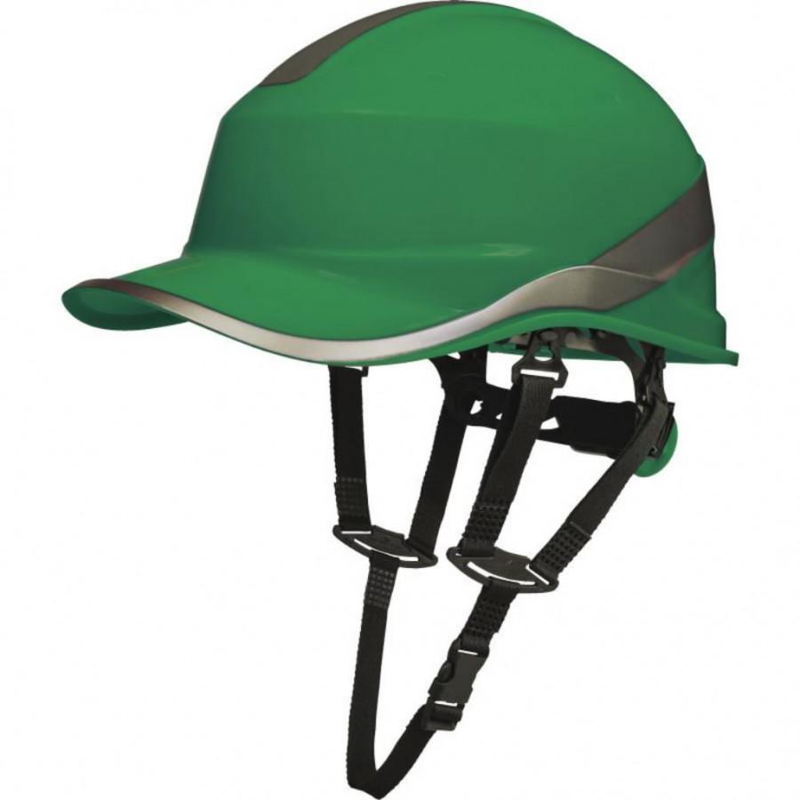 Kaitsekiiver Baseball, 1000 VAC/1500 VDC, roheline DIAMOND V