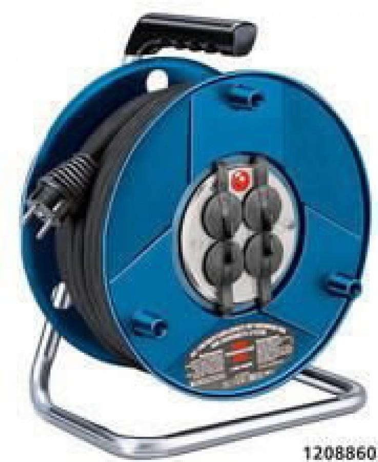 Удлинительный кабель на пластмассовой катушке  50 м  4VDE VV3 синяя1,5 GARANT, BRENNENS