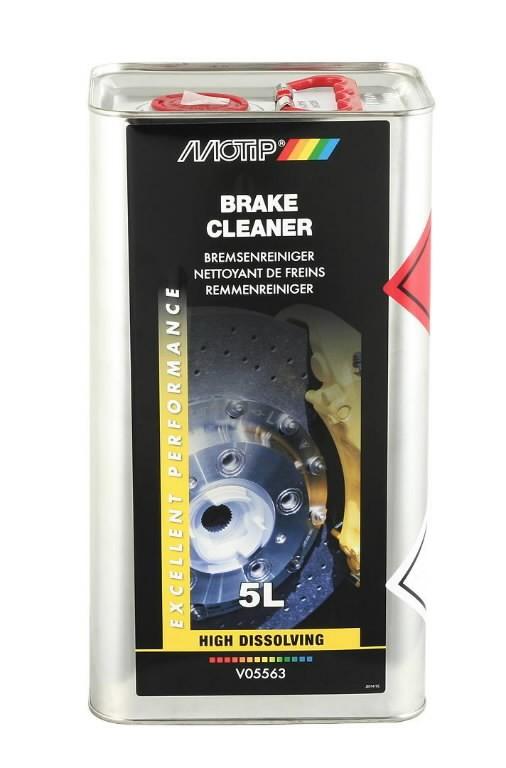 Piduripuhasti/puhastusaine BRAKE CLEANER 5L, Motip