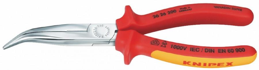 pikad koonusmokktangid kaldus 200 mm, VDE, Knipex