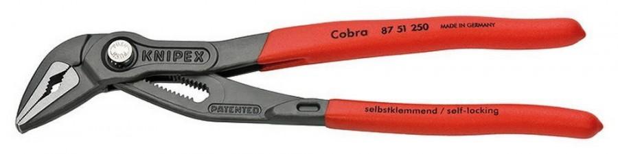 Replės Cobra plonos 250mm D32mm, Knipex