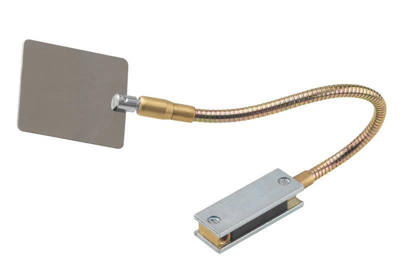 Keevituspeegel, painduva varrega, magnetiga 70x80mm, Binzel