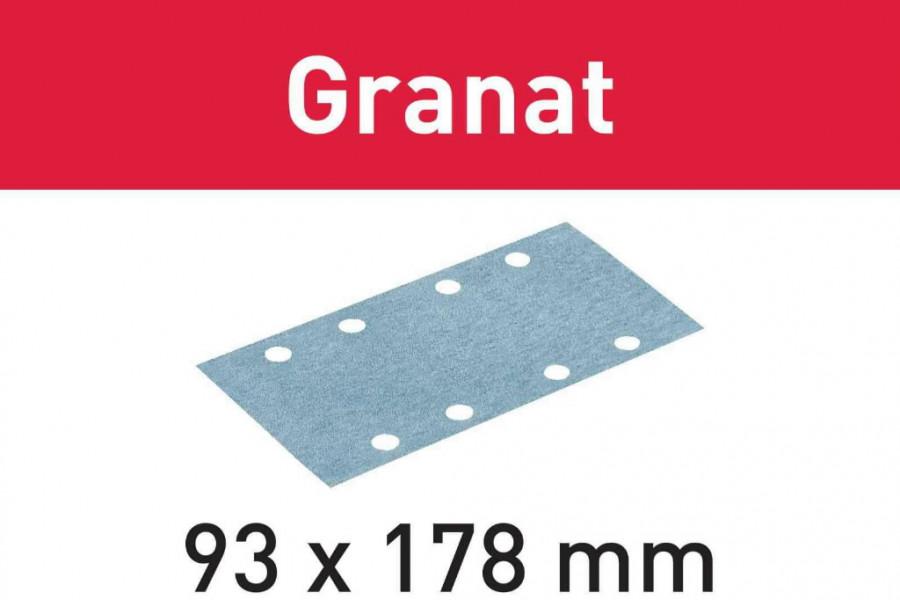 Lihvkettad GRANAT STF 93X178 P80 - 50tk, Festool