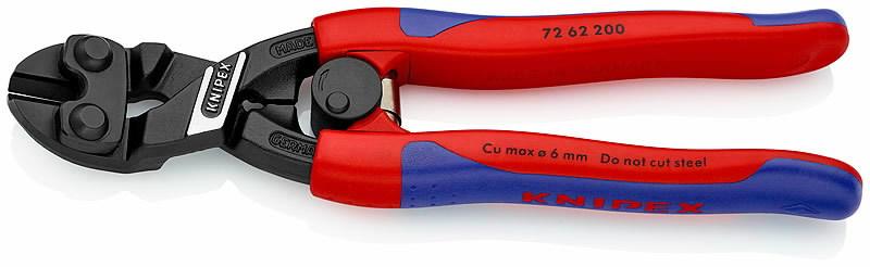 poldikäärid 200mm tasapinnaline lõige D6mm, Knipex