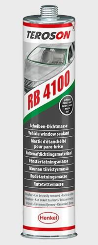 Tihendusmass  RB 4100 BK CR  must 310ml, Teroson