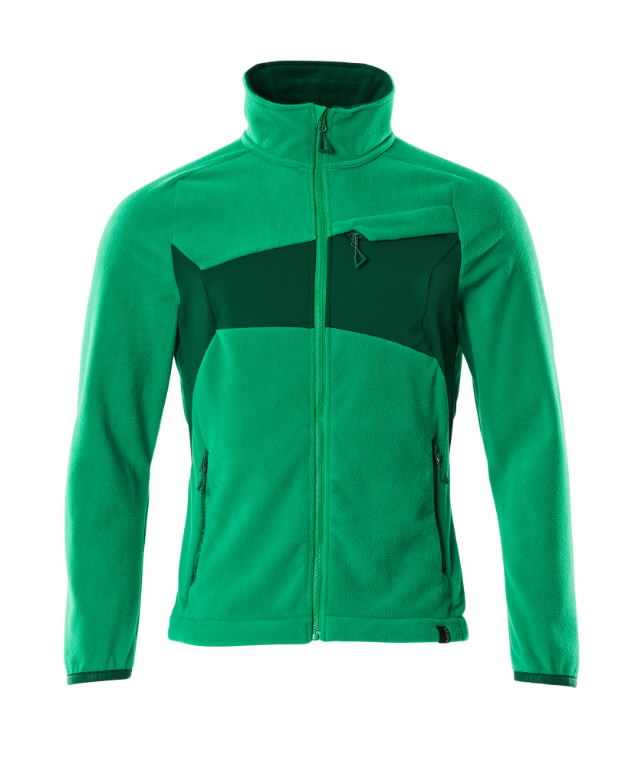 Fliisjakk Accelerate, roheline 3XL