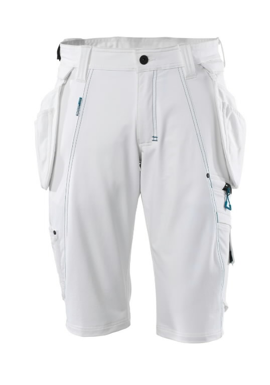 Shorts with holster pockets 17149 Advanced, white C42, Mascot