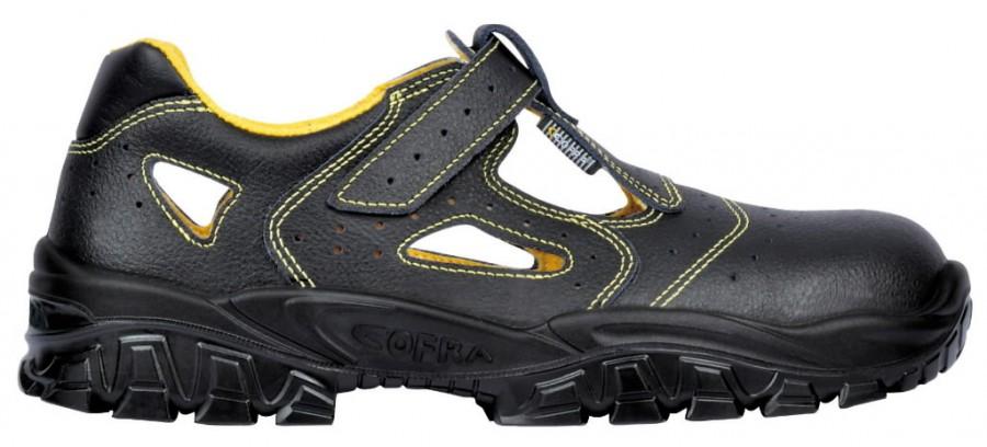 Safety sandals  Don S1, black, 47, Cofra