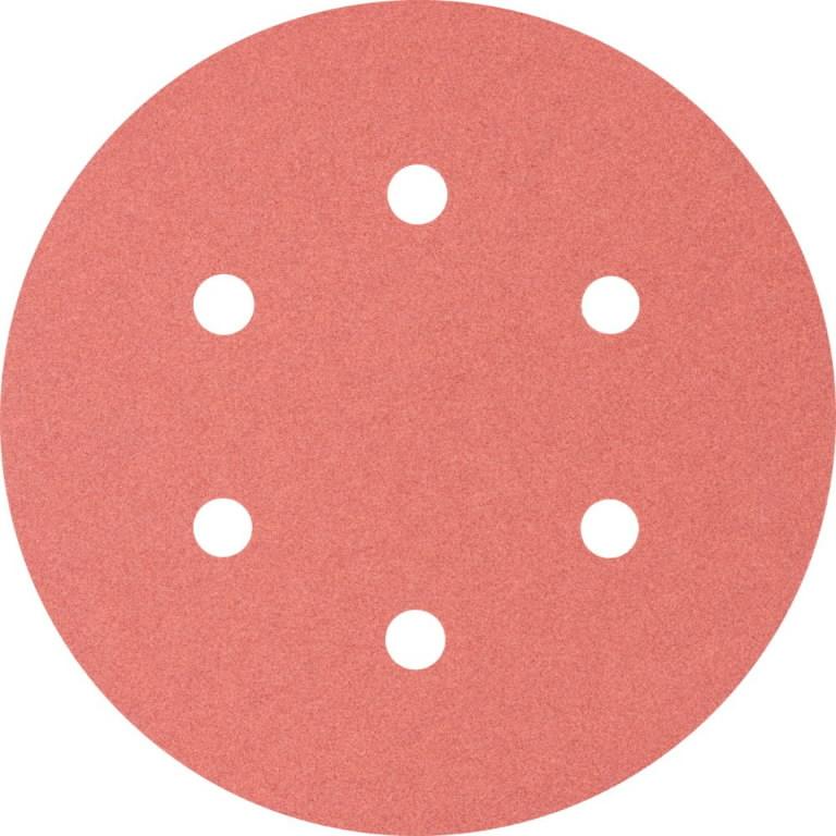 Velcro discs 150mm P240 6 hole KSS, Pferd